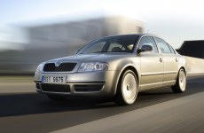 We rent Škoda Superb (top model)